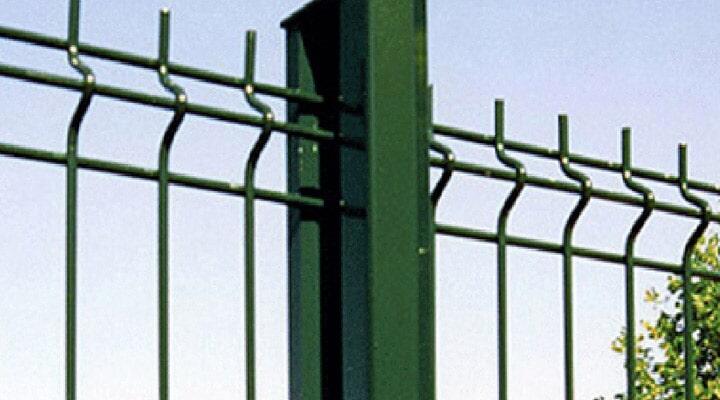 MALLA ESA CERCAS DE ALAMBRE- paneles de varilla de acero