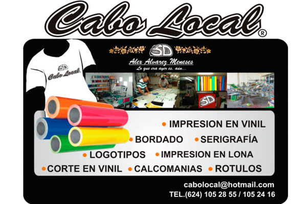 CABO LOCAL - GRAN VARIEDAD DE PRODUCTOS