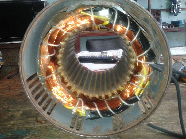I.E.G. DE MEXICO- embobinado de motores de corriente alterna