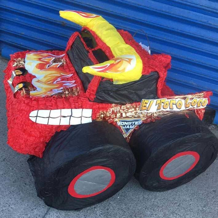CRAZY PIÑATAS - PIÑATA CAMION HOT WHEEL