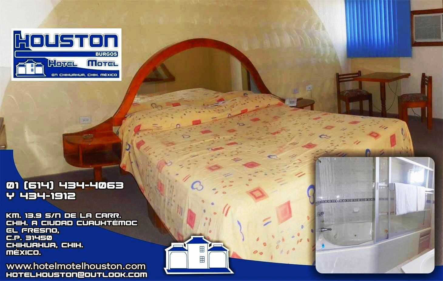 HOTEL-MOTEL HOUSTON - Jacuzzi