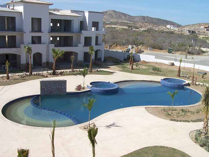 ALBERCAS Y LAGOS PACIFICO - Pools for housing developers