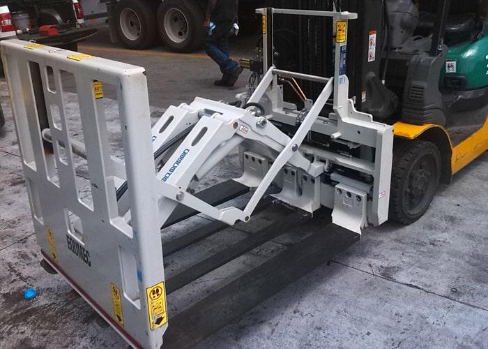 EQUIPOS MECANICOS PARA MONTACARGAS -  Reparación de ejes