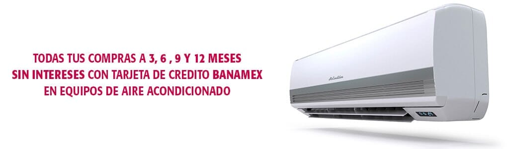 CLIMATRONIC - MESES SIN INTERESES CON BANAMEX