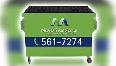 MEXICALI AMBIENTAL-Contenedores
