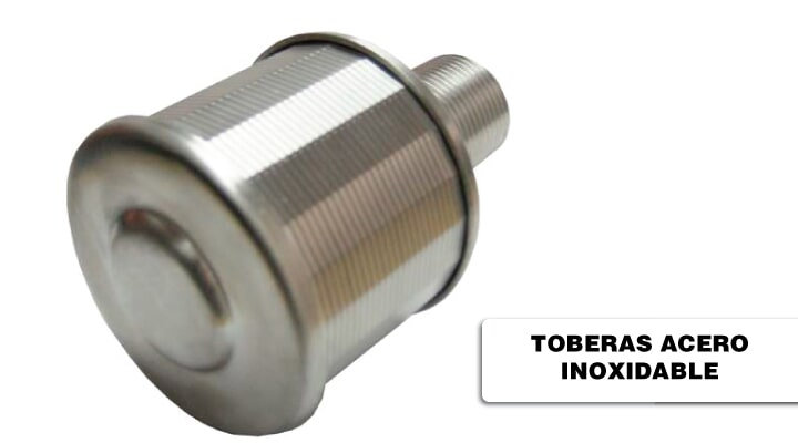 CARBOSHELL- toberas acero inoxidable