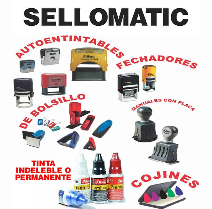 SELLOMATIC - Sellos de goma