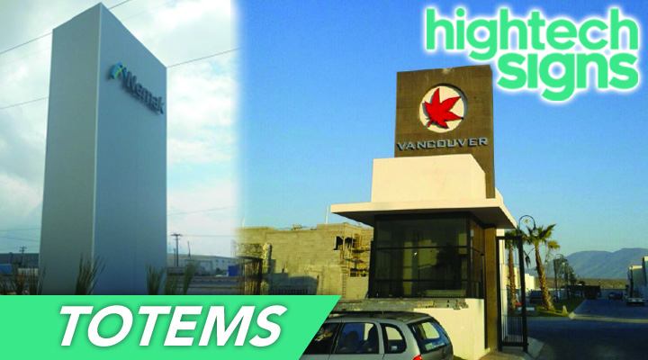 HIGHTECH SIGNS - TOTEMS