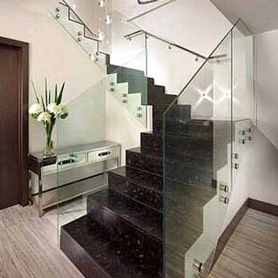 ALUMIVIR & GLOBAL GLASS - escaleras con cristal