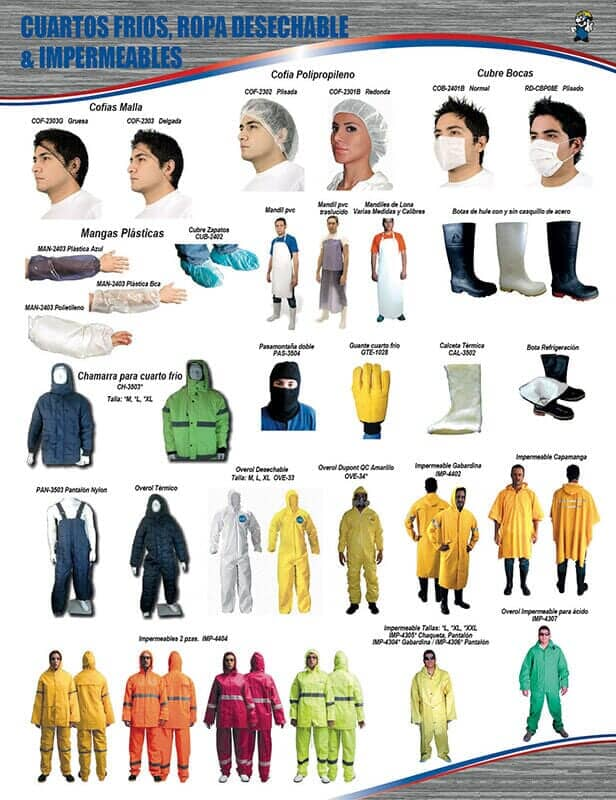 SYMONDS SAFETY - ROPA INDUSTRIAL