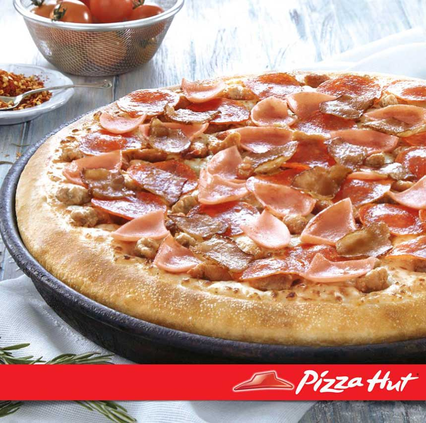 PIZZA HUT-pizza parrillada