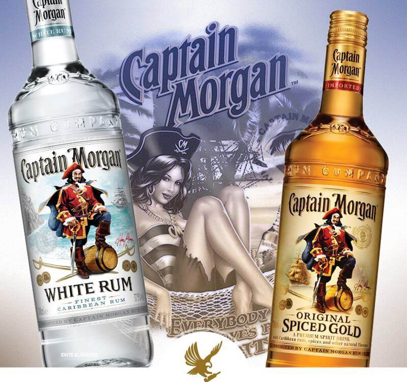 DIBESON - captain morgan