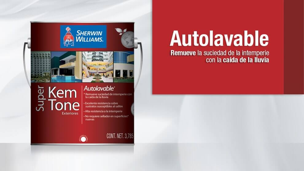 PINTURAS SHERWIN WILLIAMS TOLUCA - Autolavable