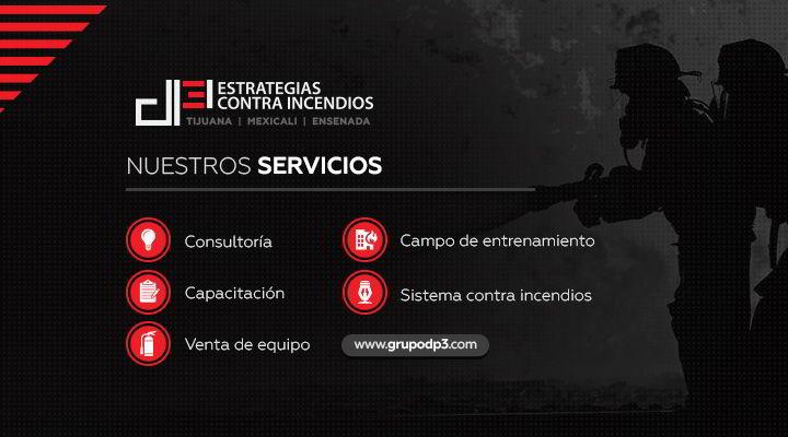 DP3 ESTRATEGIAS CONTRA INCENDIOS - SISTEMA CONTRA INCENDIO