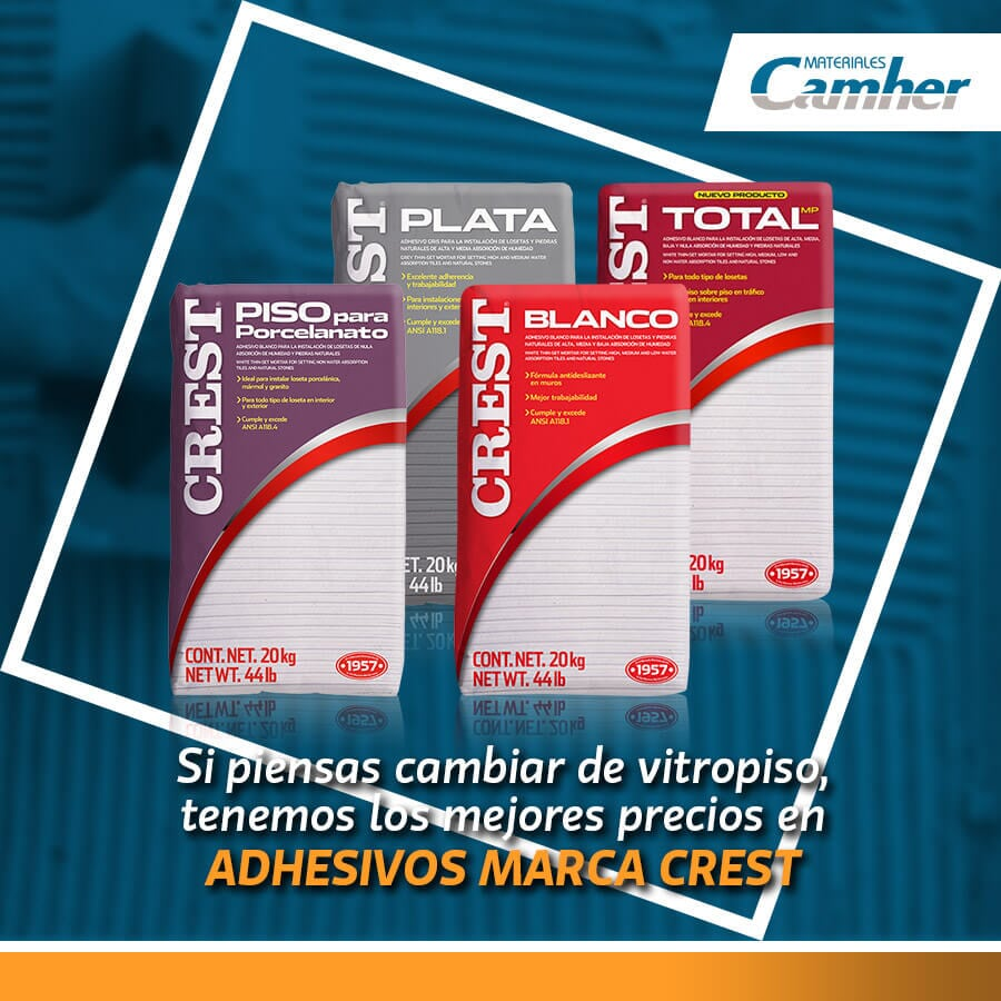MATERIALES CAMHER - Yeso