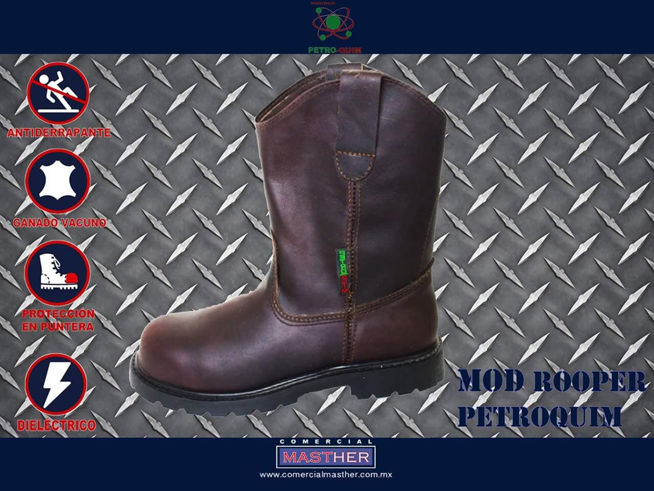 COMERCIAL MASTHER Zapatos industriales