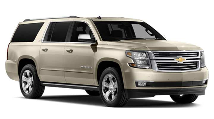 THRIFTY CAR RENTAL - Suburban 2015