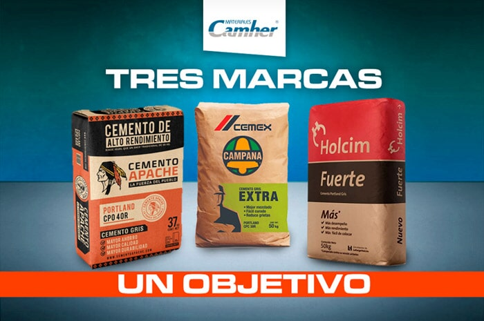 MATERIALES CAMHER - Cemento