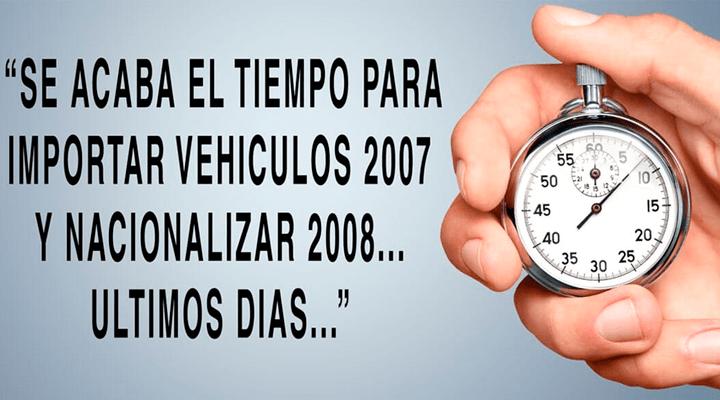 IMPORTACIONES CIMARRON- importación de vehículos