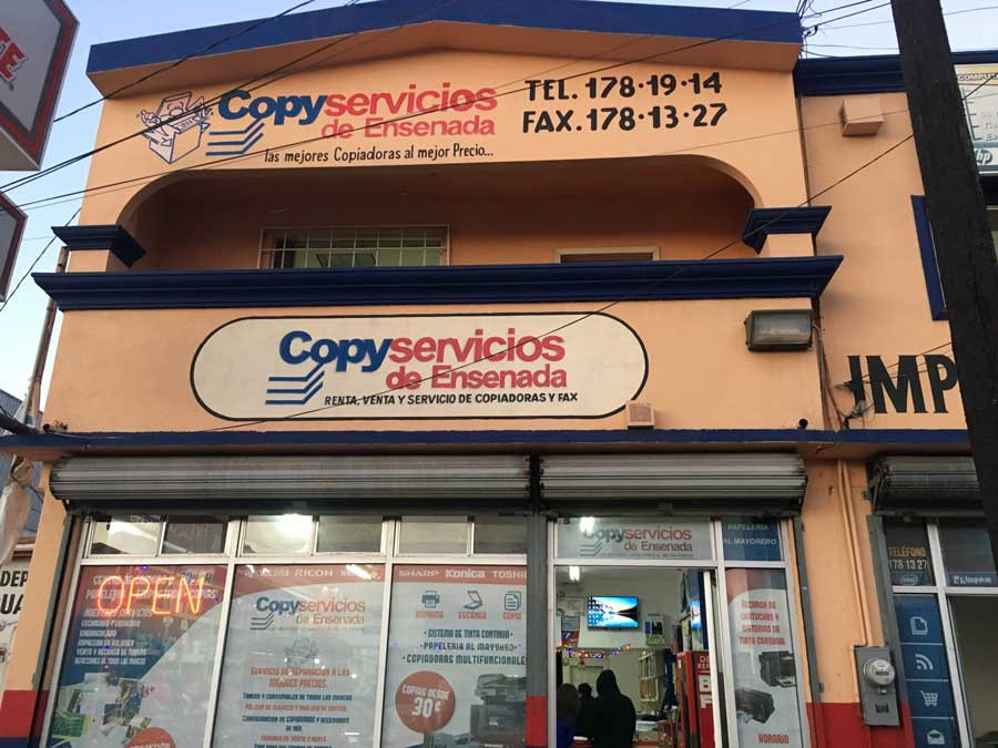 COPY SERVICIOS DE ENSENADA – multifuncionales