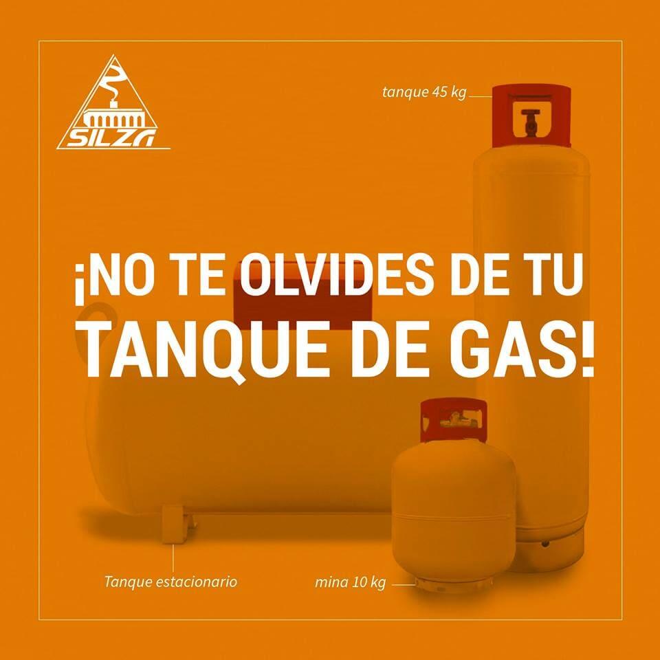 GAS SILZA - Gas combustible