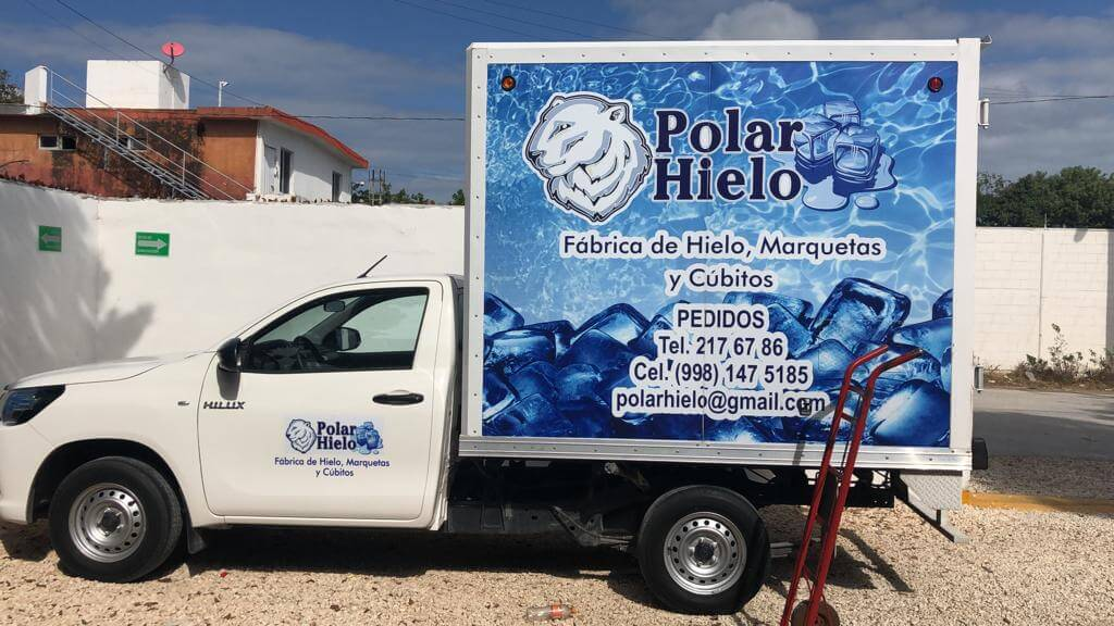 POLAR HIELO - Cubitos de hielo