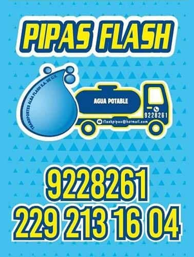 PIPAS FLASH - pedidos