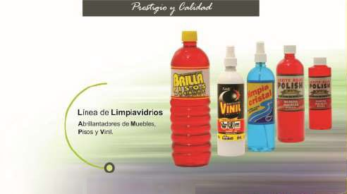 LIMPIA CRISTAL - PRODUCTOS XIBILLE