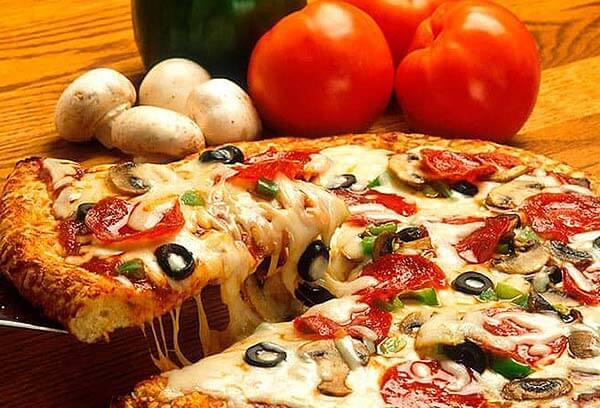 PRISION PIZZA - Pizza con queso