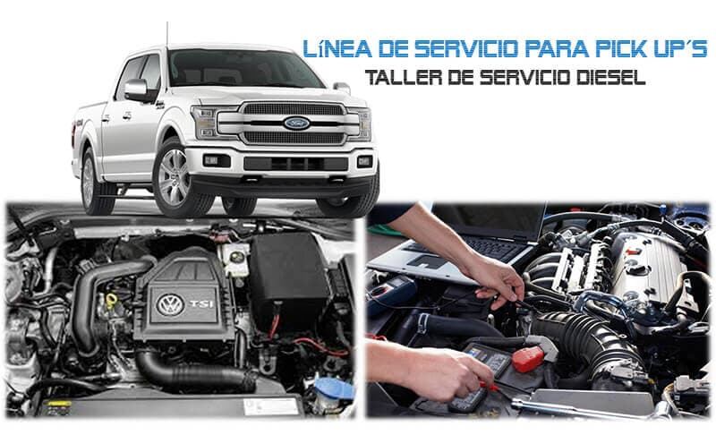 TALLER DE SERVICIO DIESEL - PICK UP´S