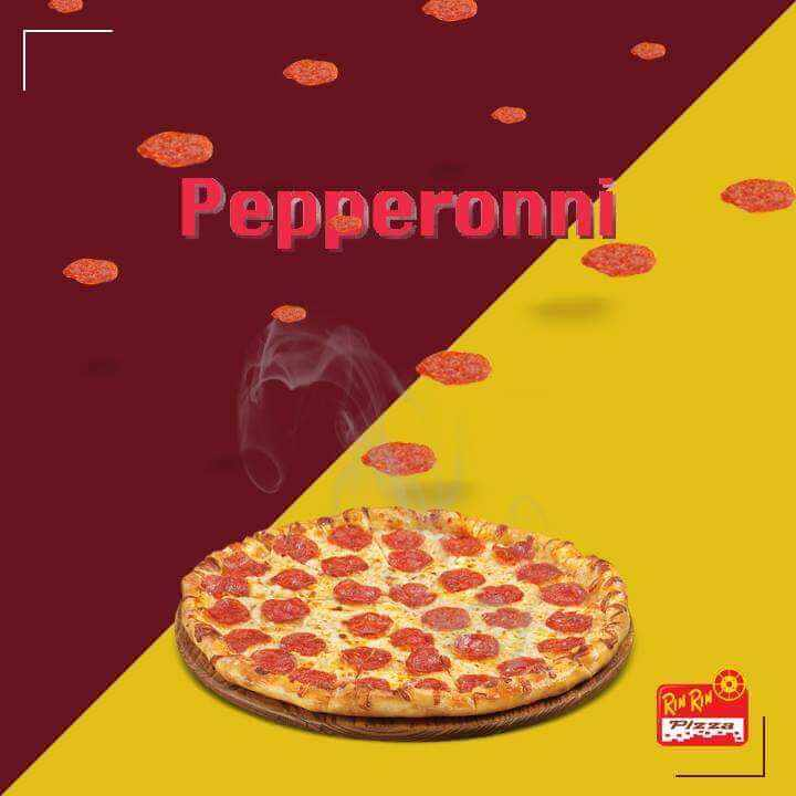 PIZZA A LA PEPPERONI - RIN RIN PIZZA