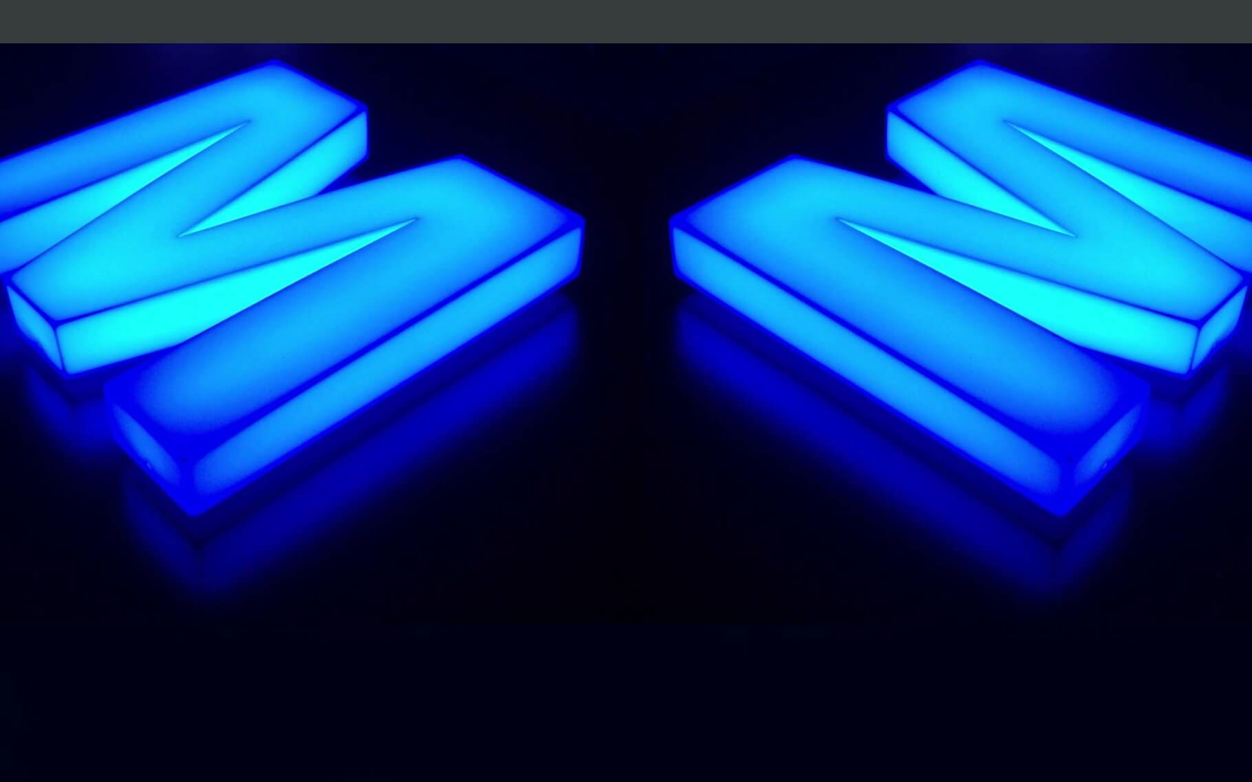 CMYK PUBLICIDAD E IMPRESION - Letras 3D luminosas