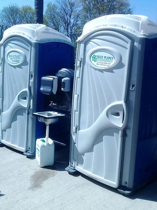 BAÑOS PORTÁTILES BLUE PLANET – Servicio e higiene