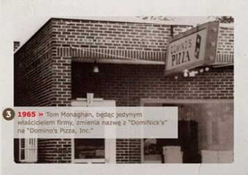 DOMINO'S PIZZA  -  dominos 1965