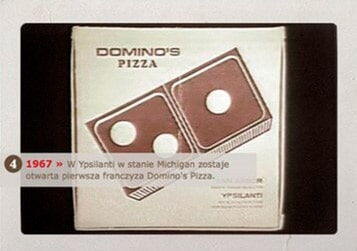 DOMINO'S PIZZA  -  dominos 1967