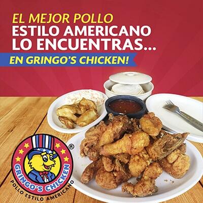 GRINGO'S CHICKEN - El mejor pollo estilo americano