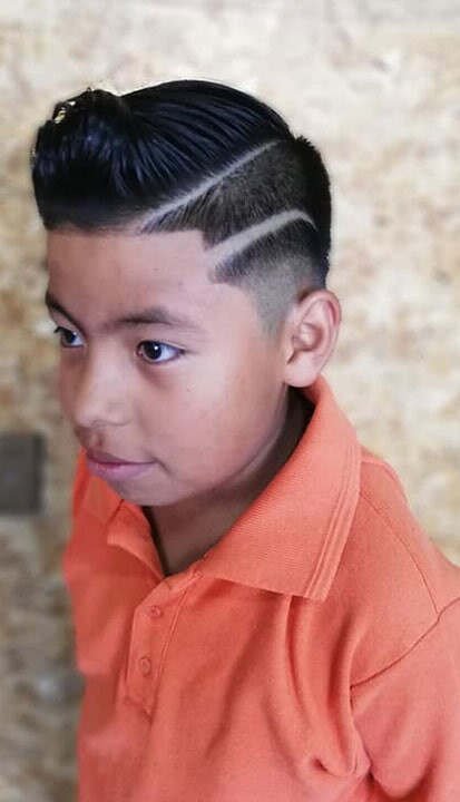 BARBERÍA THE KINGS BARBER SHOP- corte de cabello para niños innovadores