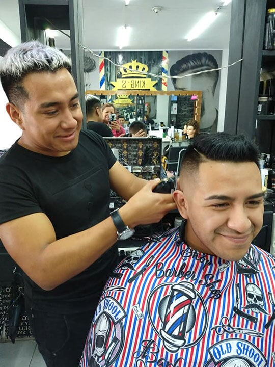 BARBERÍA THE KINGS BARBER SHOP - corte de caballero en Tlaxcala