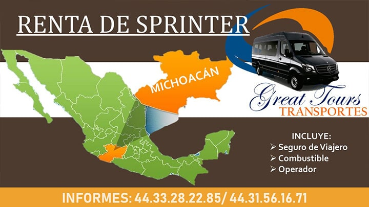 TRANSPORTES GREAT TOURS - Renta de sprinter