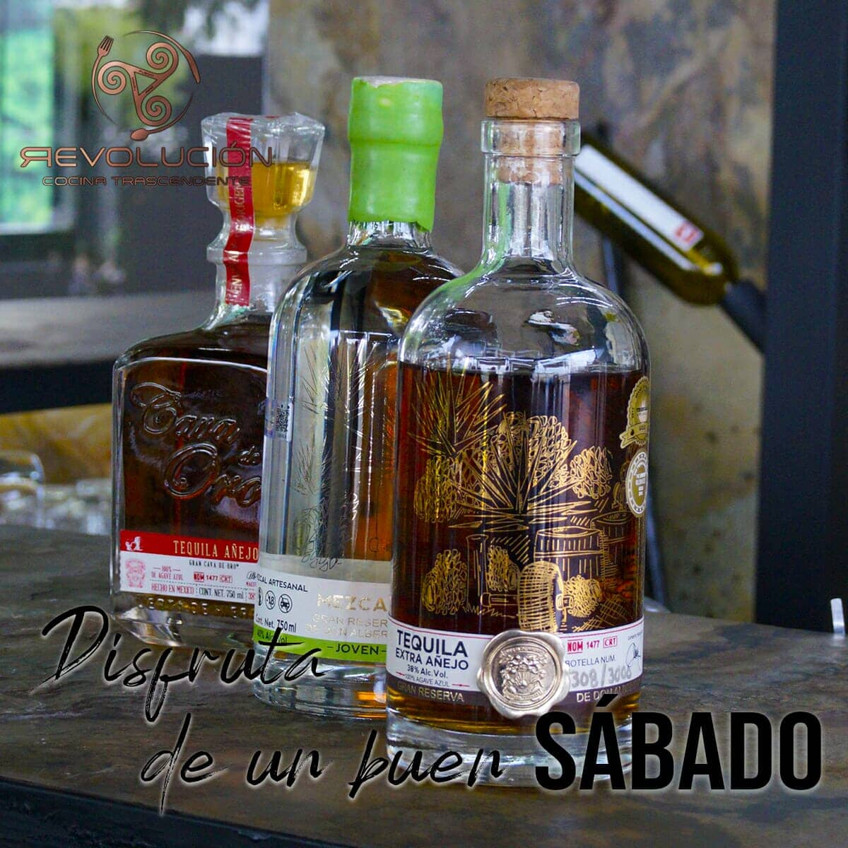 REVOLUCION COCINA TRASCENDENTE - Tequila & Mezcal