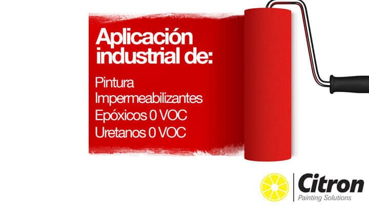 CITRON PAINTING SOLUTIONS - APLICACION-INDUSTRIAL