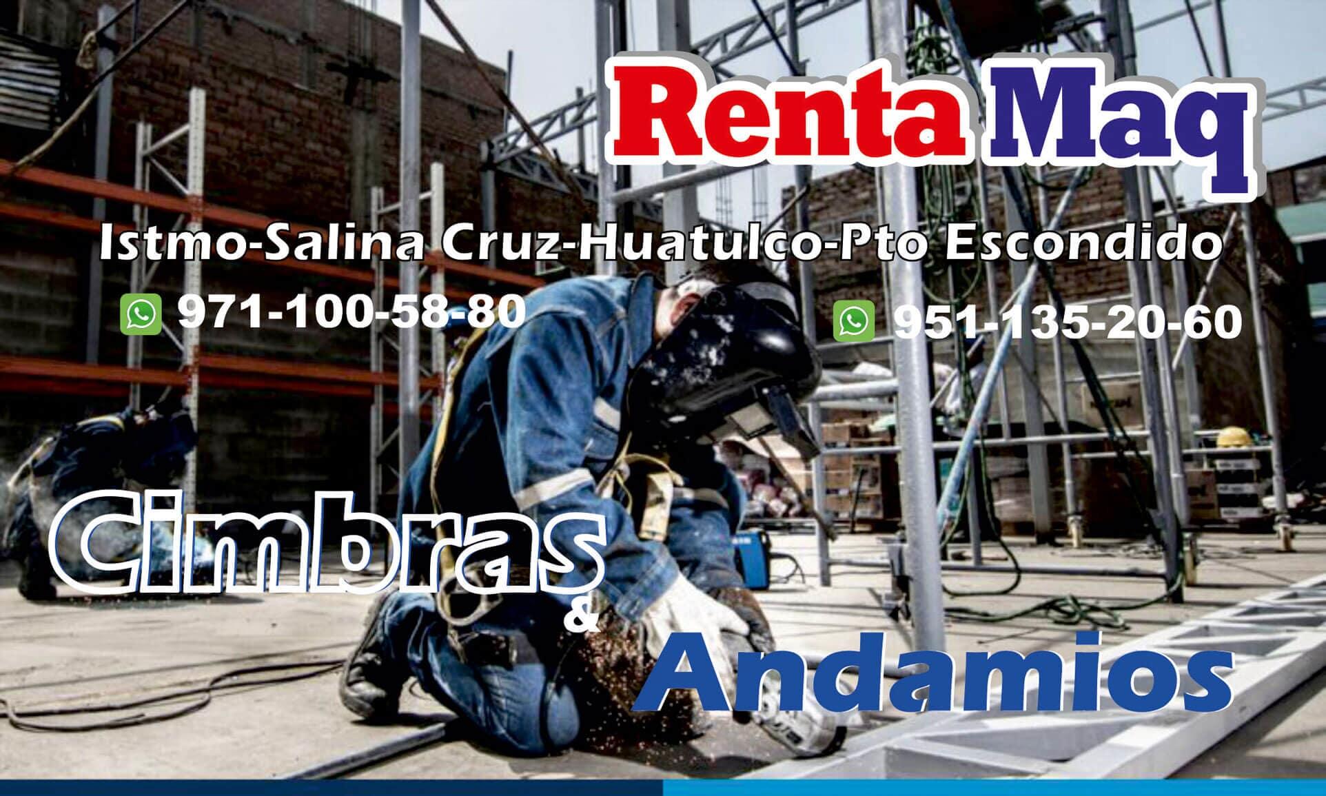 RENTA MAQ - CIMBRAS Y ANDAMIOS