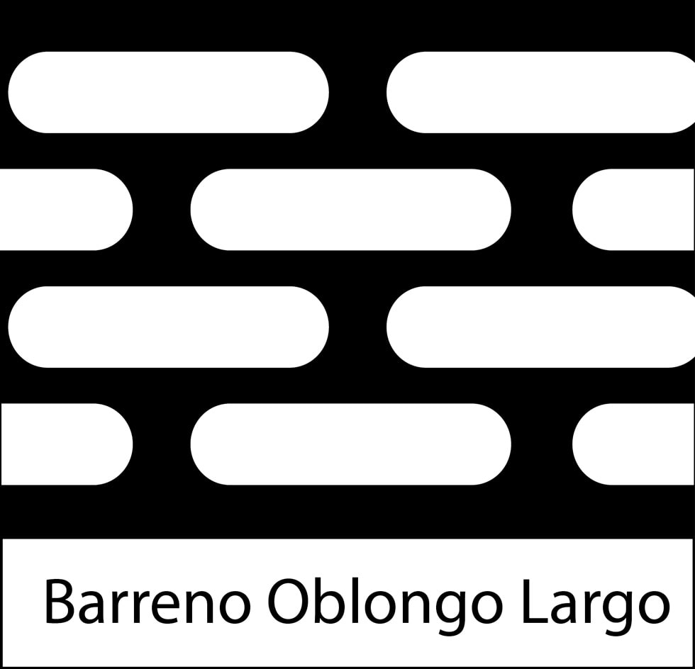 LÁMINAS PERFORADAS HERSO - Barreno Oblongo Largo