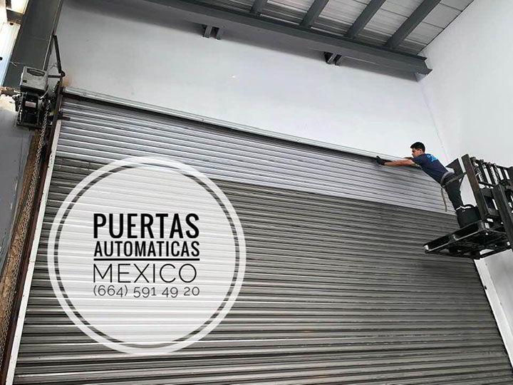 PUERTAS AUTOMÁTICAS Y CORTINAS DE ACERO MÉXICO - Reparación de cortinas de acero