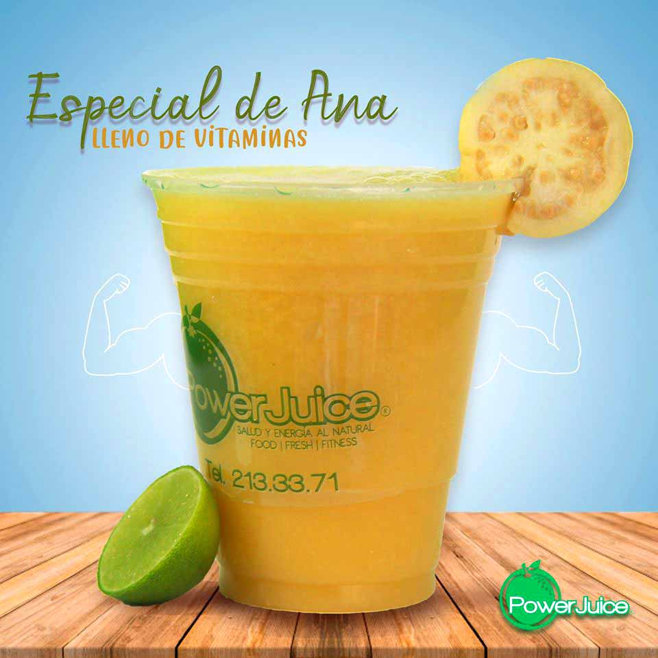 POWER JUICE  - Jugos naturales