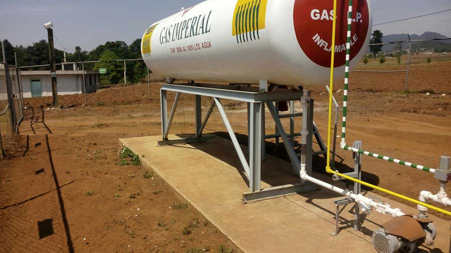 GAS IMPERIAL - gas-combustible