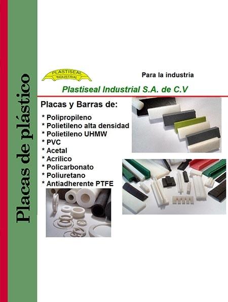 PLASTISEAL INDUSTRIAL S.A. DE C.V - PLACAS DE PLÁSTICO