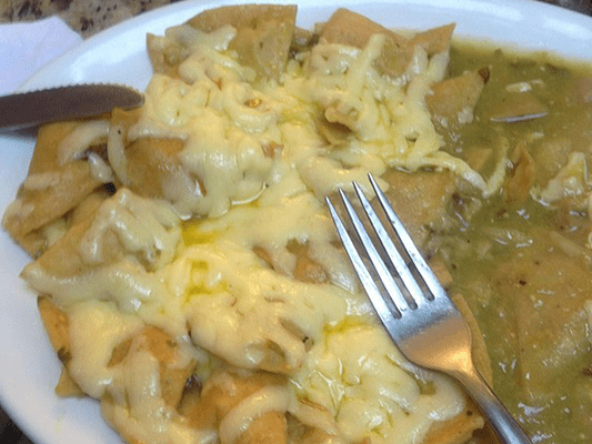 THE PANCAKE HOUSE - Chilaquiles Verdes