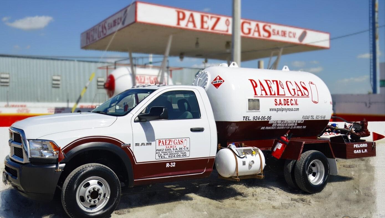 PAEZ GAS SA DE CV-servicio industrial