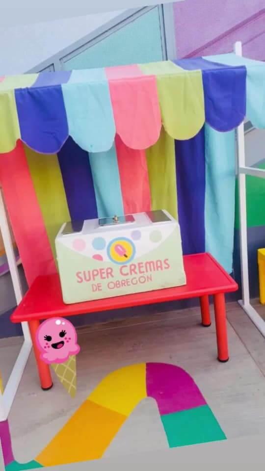 SUPER CREMAS DE OBREGÓN - Carrito de paletas para fiestas en Sonora